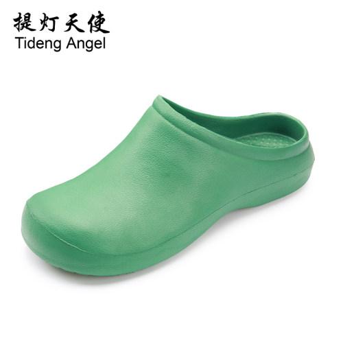 Dép y tế không lỗ - dép phẫu thuật bác sĩ- giày y tế không quai chuyên dụng cho y bác sĩ, dép y khoa chất lượng cao